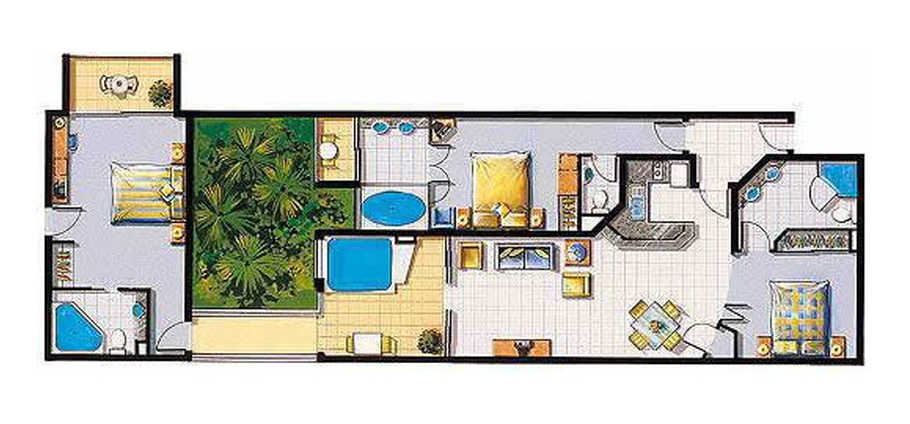 Palm Cove 3 Bedroom Holiday Apartments  U2014 Alassio Palm Cove  On The Beach