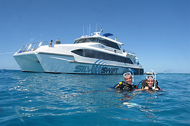 Snorkelling on the Great Barrier Reef
