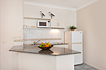 2 Bedroom Beachfront Apartment Kitchen